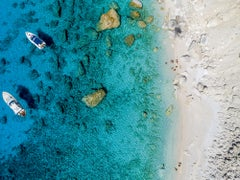'In the Wild', limited edition Onthonoi, Greece aerial teal beach photography