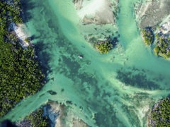 'Possible', contemporary limited edition Key West, FL aerial beach photography