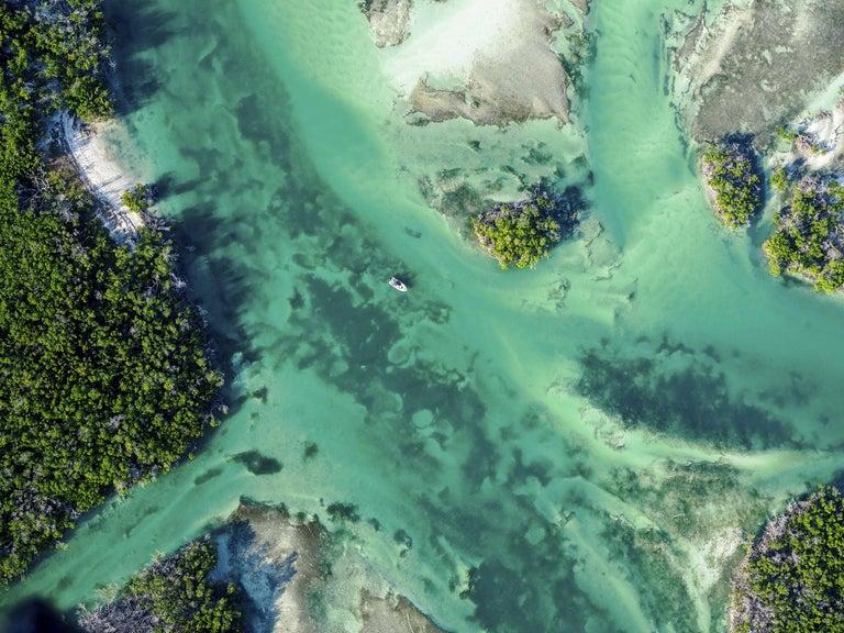 "Dinesh Boaz Color Photograph - ""Possible,"" Key West, Florida"