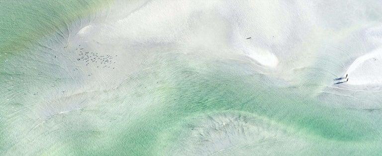 "Dinesh Boaz Landscape Photograph - ""Stormy Love (Panoramic),"" Key West, Florida"