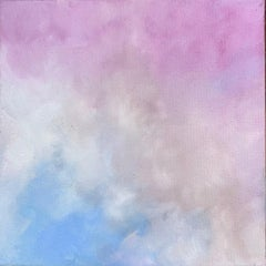 'Arise',  Abstract Contemporary Sky & Clouds Oil on Canvas Painting Mini Series