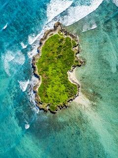 Levitation, Flat Island, Oahu, Hawaii pacific aerial photography