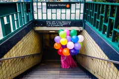 'Subway Surprise' Contemporary Photography