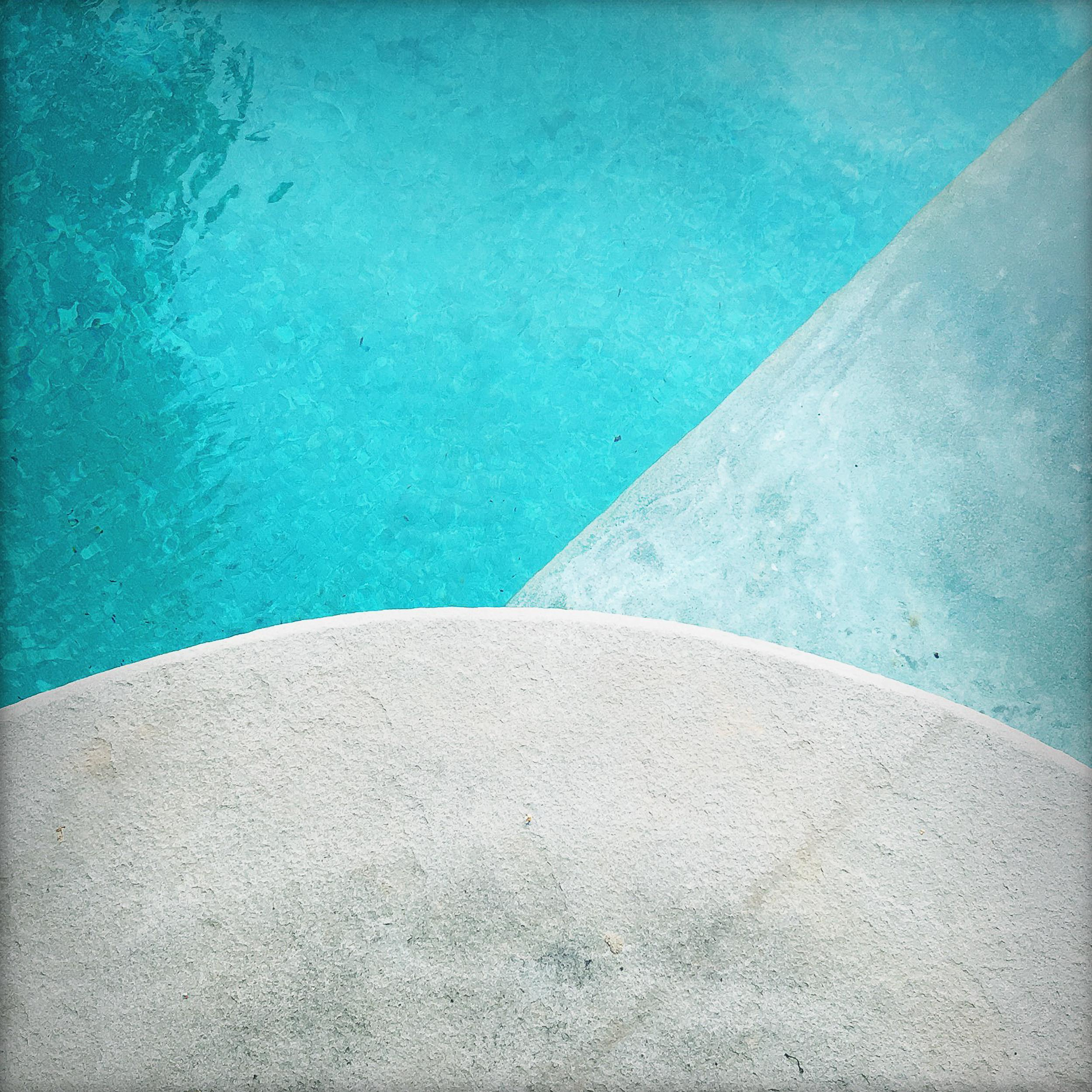 'Pool Step Series II' Contemporary Photography - 40x40