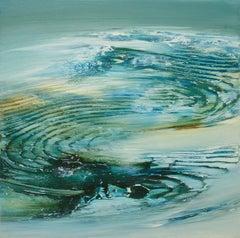 """Tropic Winds II"", Mini Painting"