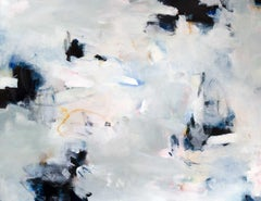 """""""Echos,"""" Abstract Painting"""