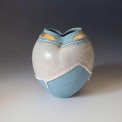 """Princess Anna,"" Abstract Ceramic Vase"