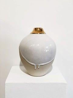 """""""Queen Elizabeth,"""" Abstract Ceramic Vase"""