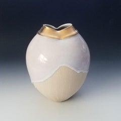 """""""Queen Elizabeth II,"""" Abstract Ceramic Vase"""