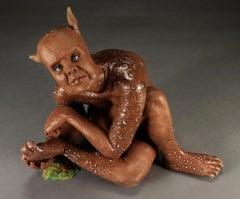 PICKY - surreal ceramic sculpture