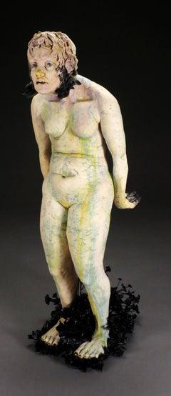 LA LOCA - ceramic sculpture of woman