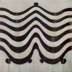 EARTHWORKS #6 - curvilinear abstract art