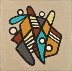 BARANADA #1 - colorful geometric abstraction
