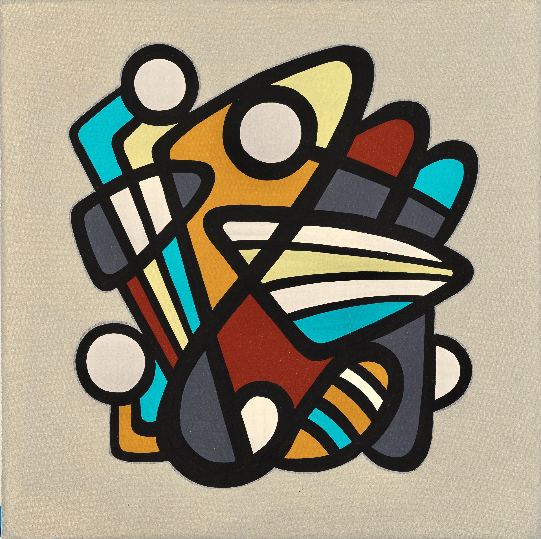 BARANADA #6 - colorful geometric abstraction