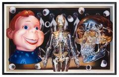 VISIBLE ANATOMY SERIES - PLASTIC MEDIA STILL LIFE - hyperrealistic painting