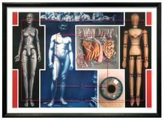 EAKINS PROJECT - FIGURE STUDY #3 - hyperrealistic anatomy painting