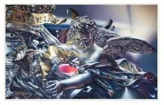 MUSEUM STUDIES SERIES - SAINT CASIMIR RELIQUARY - hyperrealistic painting