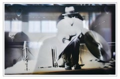 REFLECTIONS ON BEUYS #4 - ARENA: WITH CYMBALS (DIA) - hyperrealistic painting