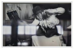 REFLECTIONS ON BEUYS #3 - ARENA: CONDUCTING (DIA) - hyperrealistic painting