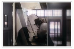 REFLECTIONS ON BEUYS #6 - ARENA: MEASURING (DIA) - hyperrealistic painting