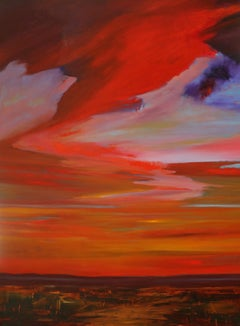 Red Landscape Paintings