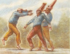 Study for 'Punchinellos' Victory Dance