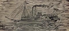 Untitled (Ship Sailing)