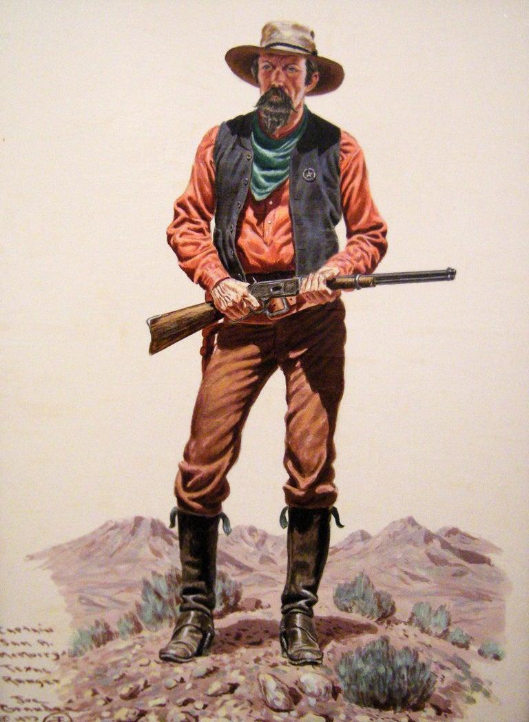 Captain McMurry - Painting by Joe Ruiz Grandee