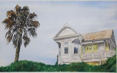 Untitled (House with Palm Trees)