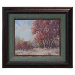 Fall Impressionist Landscape