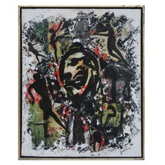 """""""Intermission"""" Contemporary Graffiti Inspired Collage"""