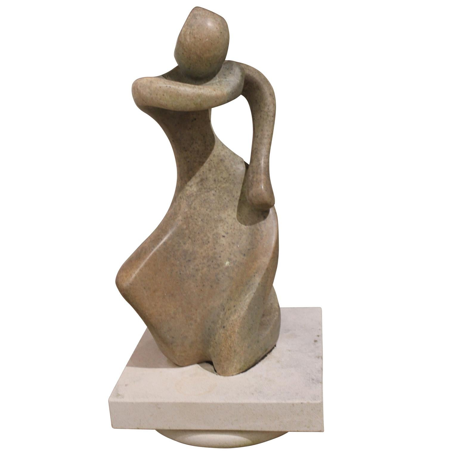 Figure of a Women in Movement
