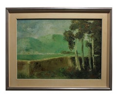"""""""Spring Countryside"""" Italian Landscape Painting"""