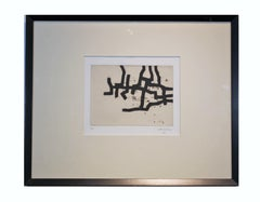 Minimal Abstract Linear Lithograph Edition 16 of 50