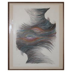 Abstract Feather Like Drawing For Toby Topek