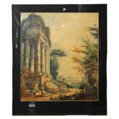 Capriccio Landscape View with Figures