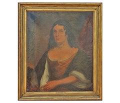 Naturalistic Portrait of Pocahontas