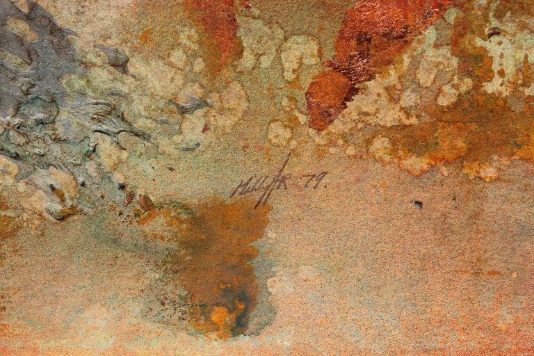 Impressionist Earth Tonal Mountain Landscape  - American Impressionist Art by Brent Millar