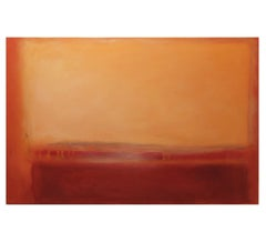 Untitled Abstract Expressionist Painting Inspired by Mark Rothko