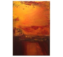 """""""Homecoming of a Loving Spirit"""" Abstract Expressionist Inspired by Mark Rothko"""