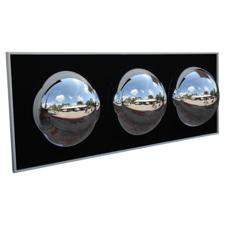 Monumental Contemporary Assemblage Black Op Bubble Art For Sale 1