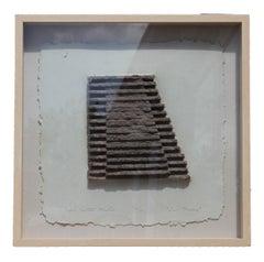 """Les Mesas"" Minimal Framed Wall Sculpture"