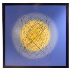 """Quark"" Atomic Influenced Contemporary Painting"