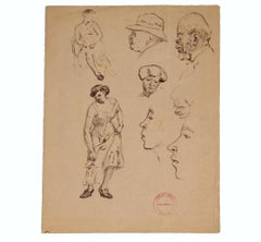 Figurative Study of a Women and Man