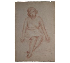 Portrait Study of a Seated Woman