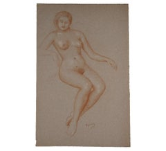 Naturalistic Female Nude Figurative Study