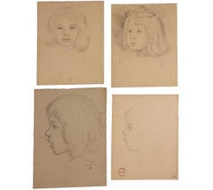 Collection of Girl Portrait Studies