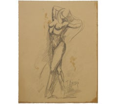 Dancing Nude Figurative Study
