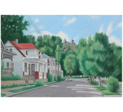 """""""Eureka Springs"""" Perspective Landscape"""
