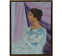 Untitled Portrait of a Woman in a Naturalistic Style